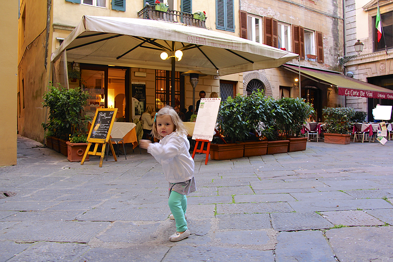"""""""Come along for an upcoming post all about a couple restaurants in Lucca!"""""""