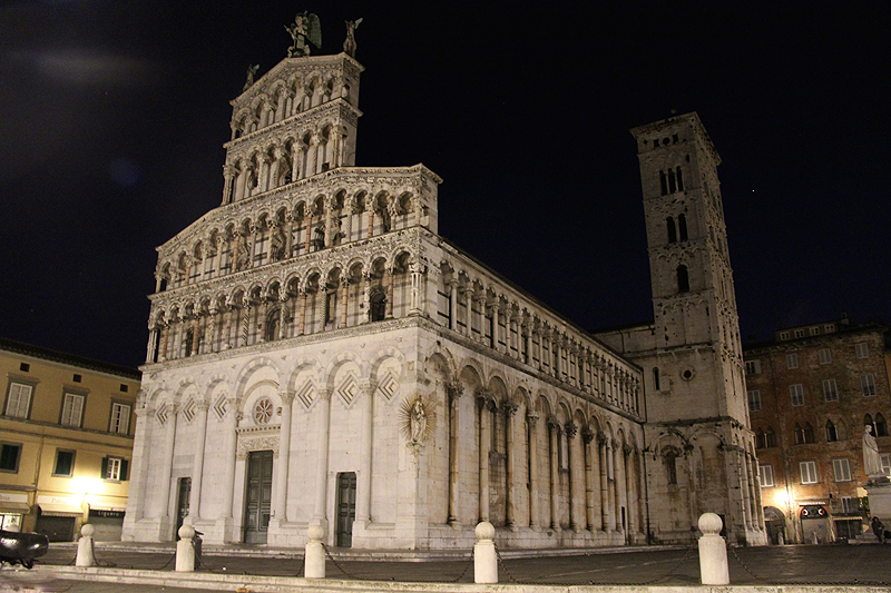 Chiesa di San Michele at night