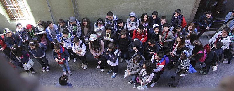 Students in Lucca