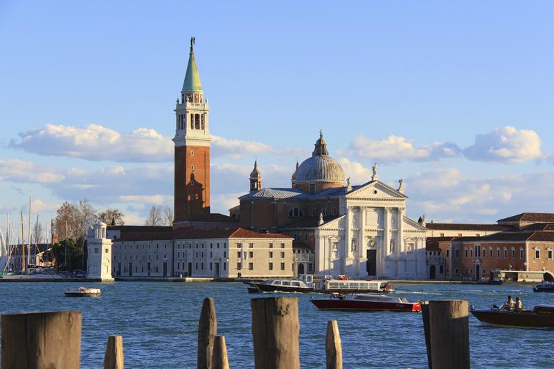 The Church of San Giorgio Maggiore Church on the island that shares the same name