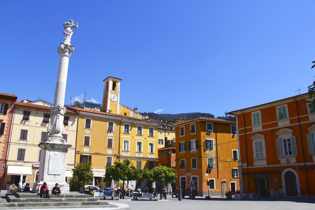 The interior piazza