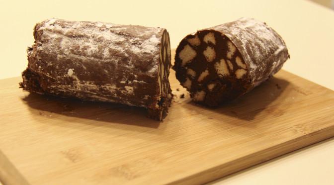 Fun With Food ~ Chocolate Salami