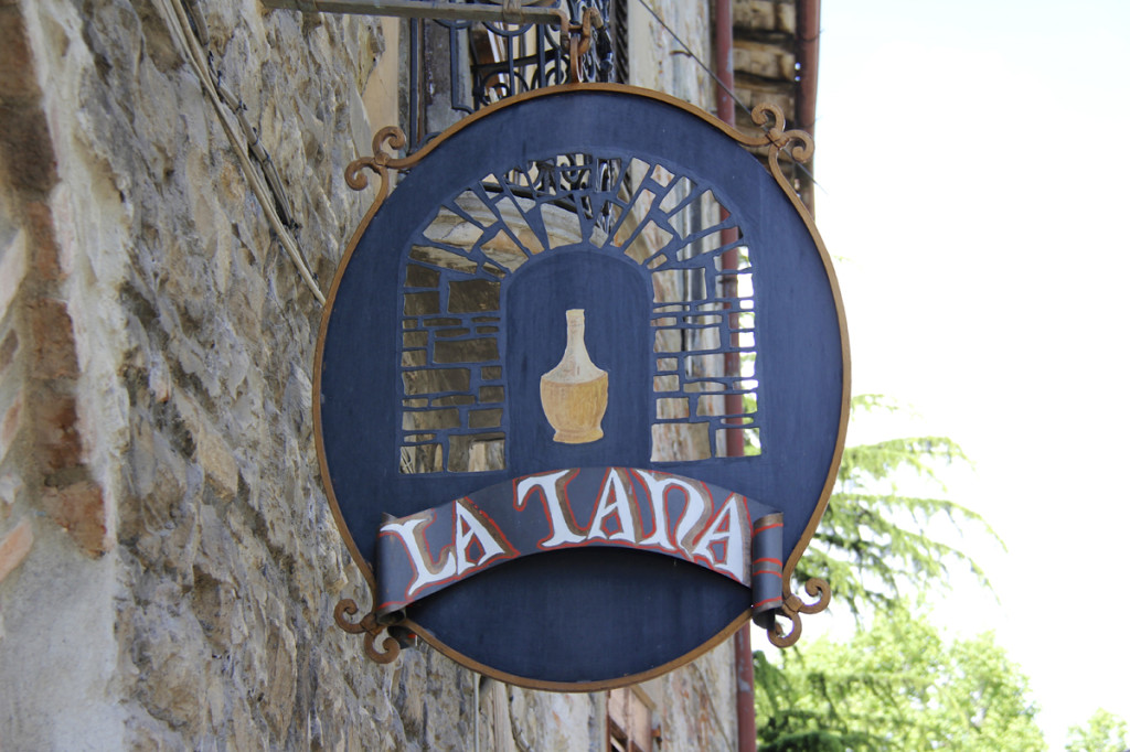 La Tana - a fabulous restaurant