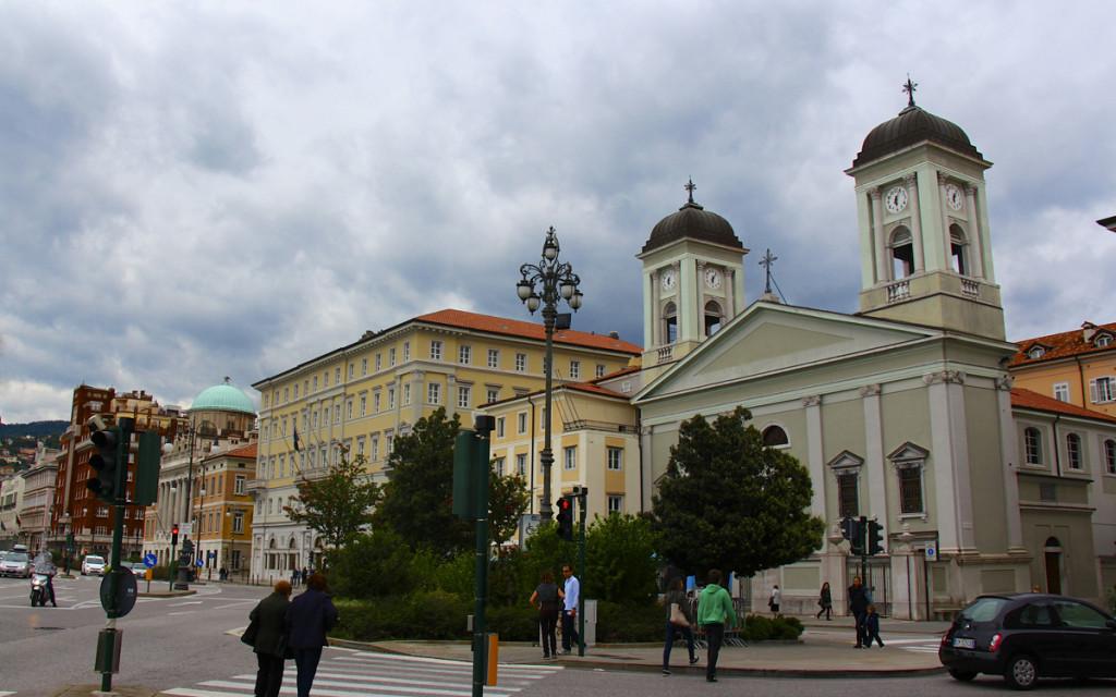 Along the main street