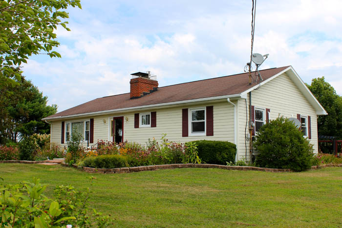 16+/- Acres, Ranch Home With Private Setting