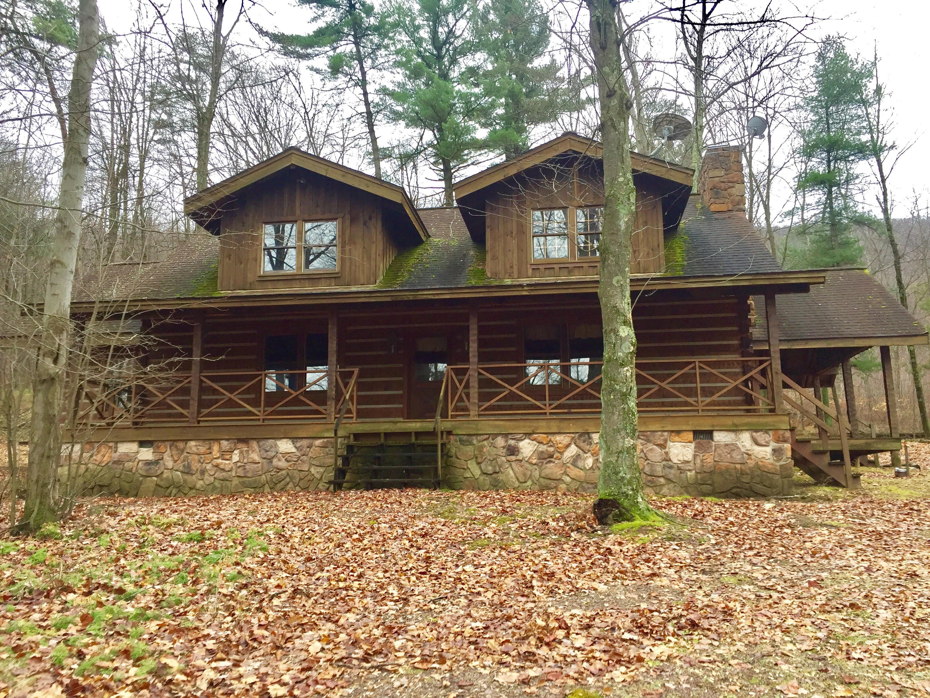 348 Acres Land, Log Cabin, Mifflinville, PA