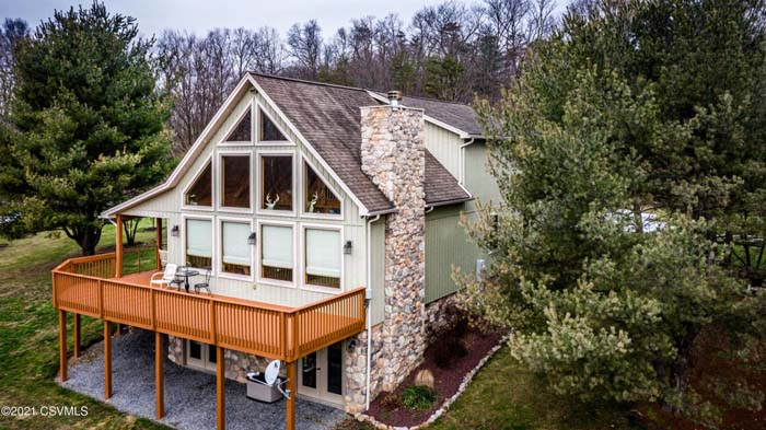 Exclusive Custom Built Log Style Home on 13.42 Acres
