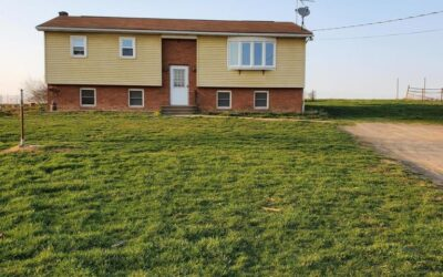 11 Acres and Home in Peaceful Setting