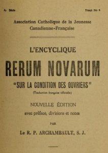 Rerum Novarum- Internet Archive