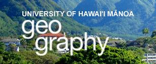 University of Hawaii at Manoa geography department . (Image credit: University of Hawaii at Manoa)