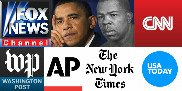 Major media outlets appear to be ignoring a newly unearthed 1995 video of Barack Obama discussing his relationship with communist operative Frank Marshall Davis.