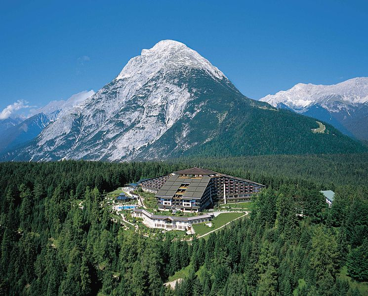 The Bildergerg Goup's 2015 conference takes place at the InterAlpin Hotel Tyrol, in Buchen, Austria. (Image credit: Wikimedia Commons)
