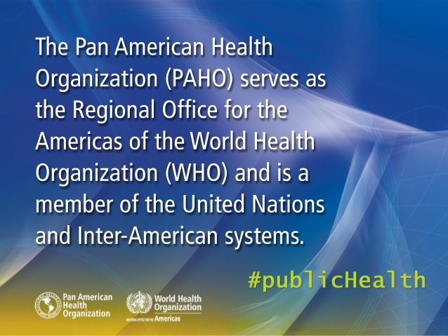 Slide from Pan American Health Organization power-point presentation. (Image credit: PAHO)