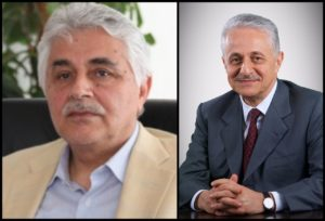 Iraqi nuclear scientist Dr. Jafar Dhia Jafar (left) and his brother Hamid Jafar, Chairman of The Crescent Group (right)