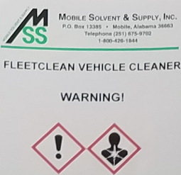 Fleetclean-Label