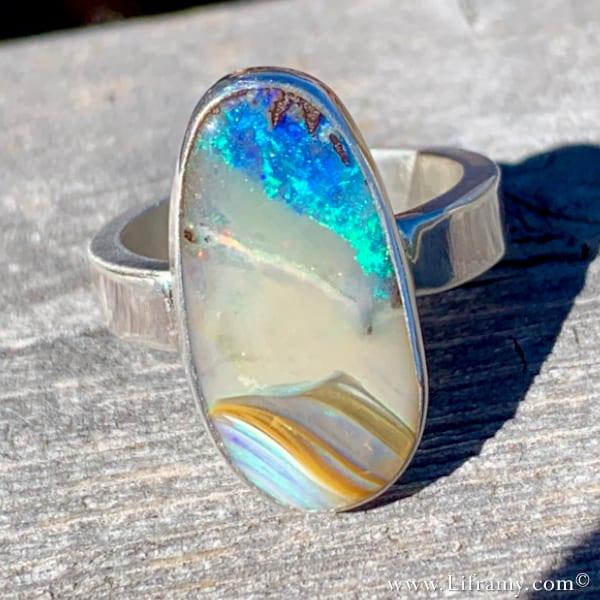 Liframy - God's Creation Earth Stone boho jewelry by Amy Whitten