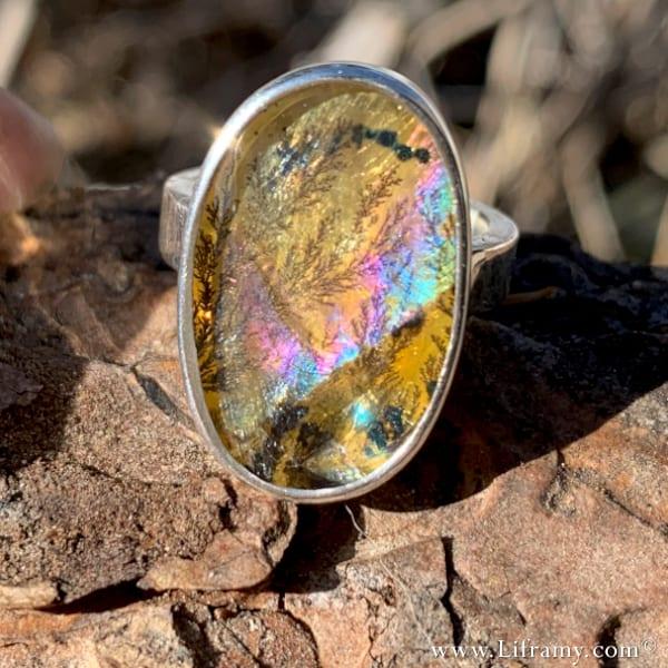 Liframy - The Four-Season Springtime Boho luxe Jewelry Statement ring