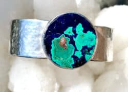 Shop Liframy – Hope and Love Within an Earthy Azurite Malachite Cuff