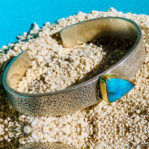 Liframy - Sleek Beach Vibes Boho Opal Band