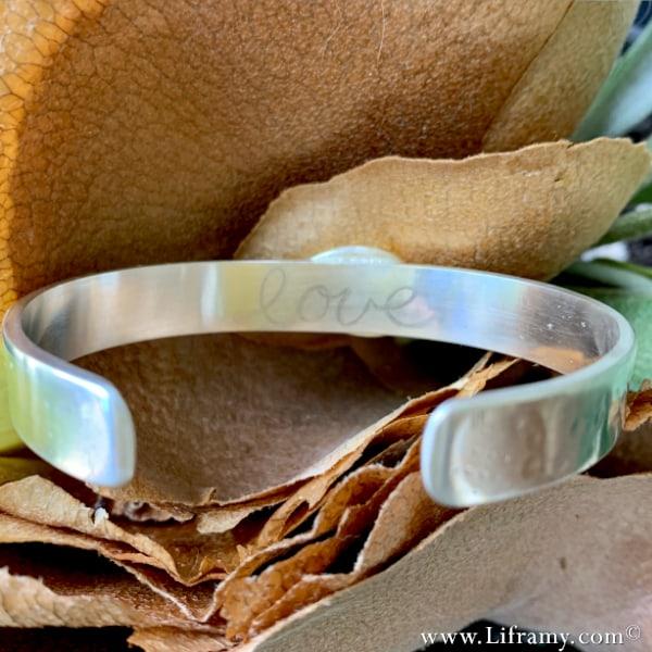 Liframy - Sky-blue Daydream Chrysocolla Azurite Cuff hand forged by Amy Whitten