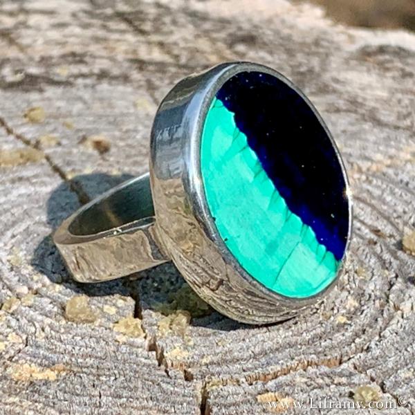 Liframy - Azurite Stone Ring