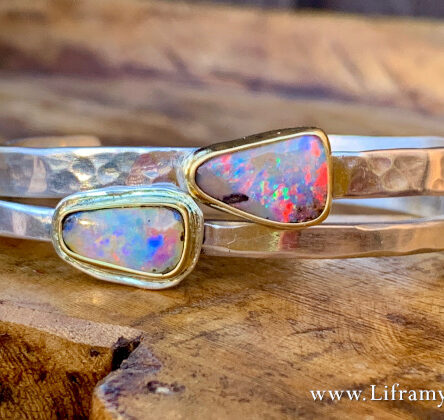 Liframy – Boulder Opal Stacking Cuffs