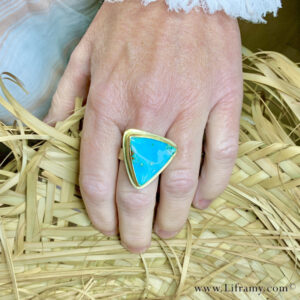 IMG 4604p 300x300 - Shop Liframy - Tropical Gem Silica 18k Gold Ring