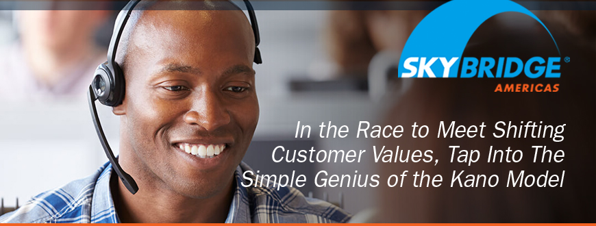 In the Race to Meet Shifting Customer Values,  Tap Into The Simple Genius of the Kano Model