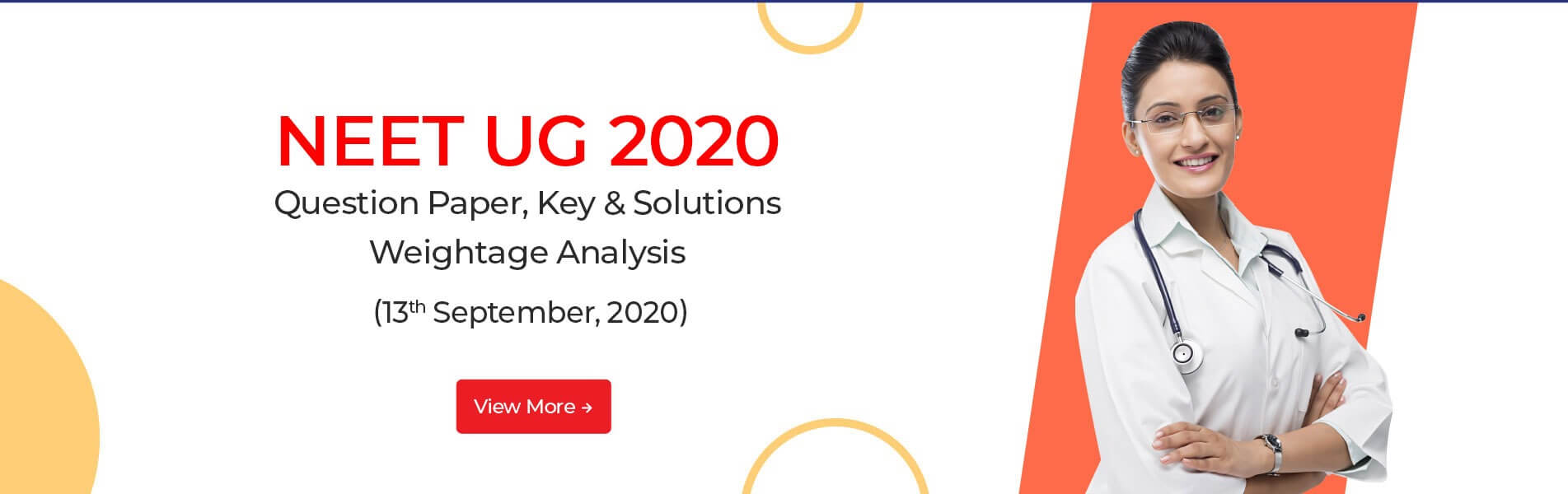 NEET 2020 Answer Key and Solutions