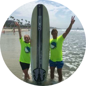 surfing lessons in sd