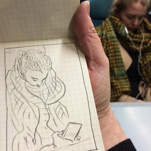 From Chris's sketchbook.