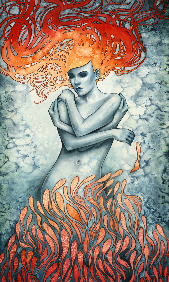 """Synergy"" by Kelly McKernan"