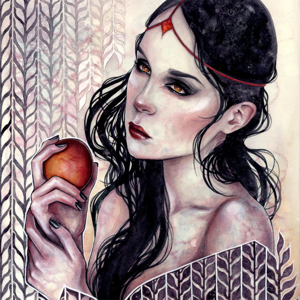 """""""Malediction"""" by Kelly McKernan"""