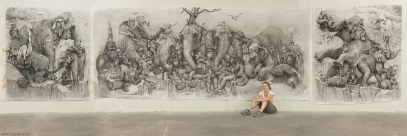 Elephants-Pre-ArtPrize-2012
