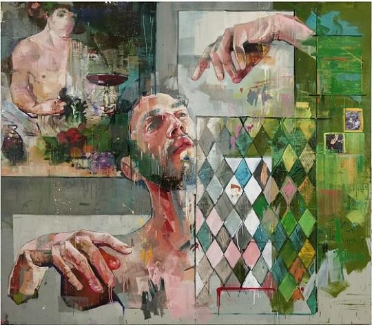"""""""Green Dionysus"""" by Andrew Salgado"""