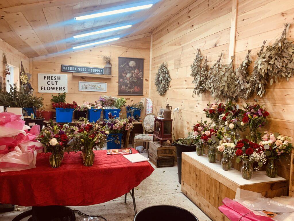 Lone Birch Blossoms Flower workshop