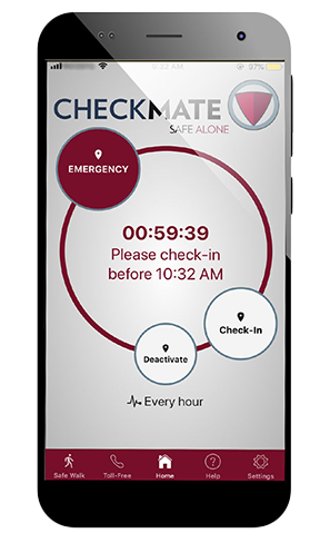 CheckMate Safe Alone App