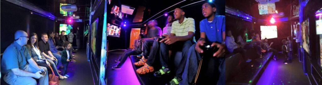 Video game truck birthday party in Sandhills Fayetteville eastern North Carolina