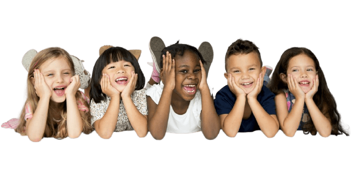 group-of-diverse-cheerful-kids