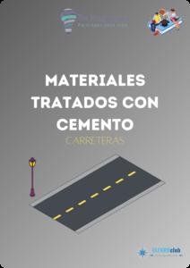 Materiales tratados con cemento