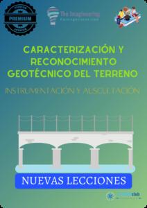 Caracterización y reconocimiento geotécnico del terreno