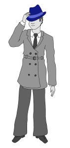 One of the detective images you receive.