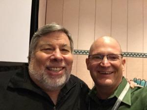 Steve Wozniak and Karl Kapp at Learning2015.