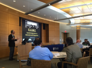 Kevin Werbach setting the stage for a day long discussion of gamification.