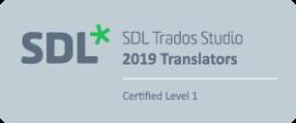 Trados 2019 Certification