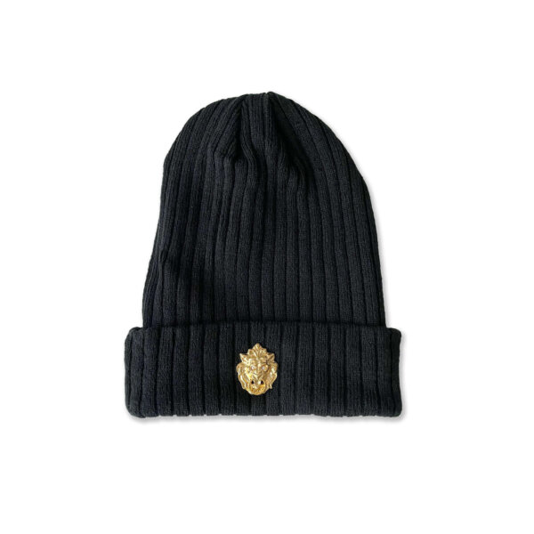 GarrCee Collection Royalty Beanies Black