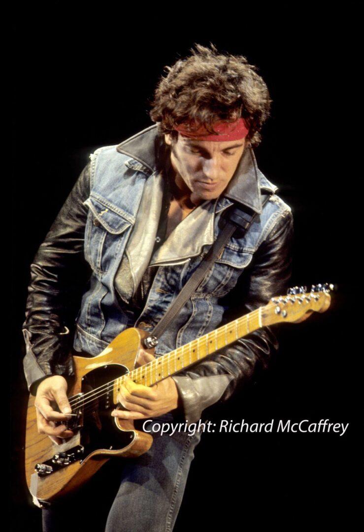 Bruce Springsteen; Oakland Coliseum; Oakland CA 1984 (6)