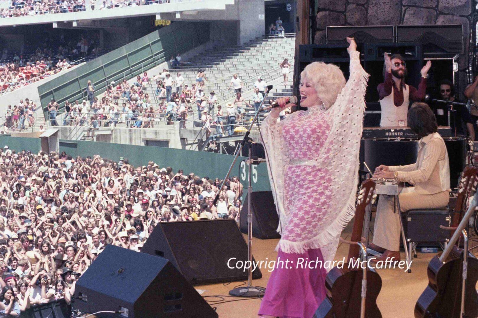 Dolly Parton-Oakland Coliseum; Oakland CA; 1978