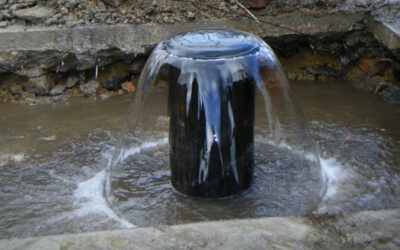 Problems with Artesian Wells in Winter