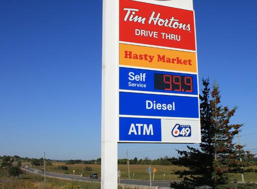 Gas Station Pylon Signs